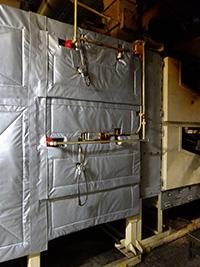 表面温度を下げることにより、周辺温度がさがり環境対策になりました。