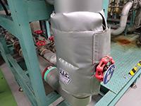 えこきーぱーを取付ることにより、放熱が抑えられ省エネ対策と室内の環境対策が出来ました。
